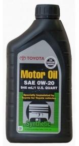 Toyota Motor Oil 0W20 0,946л