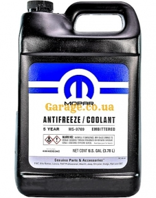Антифриз Mopar Antifreeze Coolant Orange MS-9769