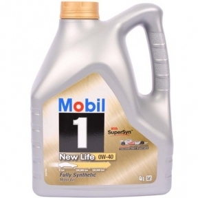 Mobil NEW LIFE Fully Synthetic 0W-40