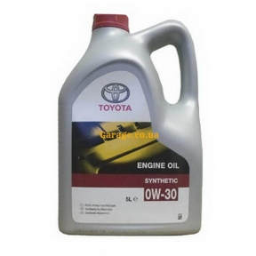 Toyota Synthetic Engine Oil 0W-30 5л