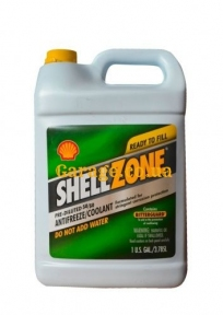 Shell антифриз Shellzone -80C (зеленый)  3,785л
