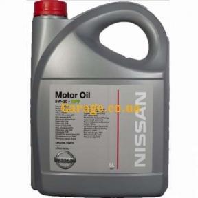 Nissan Motor Oil 5W-30 DPF 5л