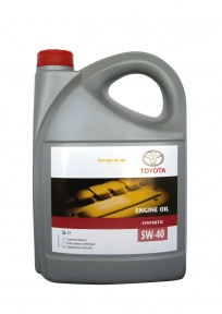 Toyota Synthetic Engine Oil 5W-40