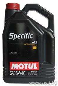 Motul Specific LL-04 5W40