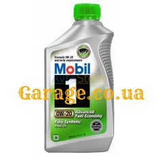 Mobil 1 Advanced Fuel Economy (синтетика) 0W30