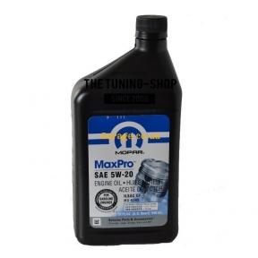 Mopar Motor Oil 5w20
