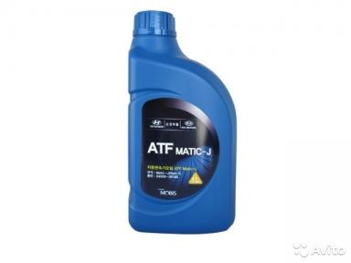 Hyundai / Kia ATF Matic-J (RED-1) жидкость для АКПП 1л