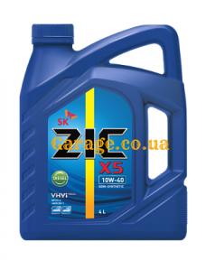 ZIC X5 Diesel 10W-40 (ZIC RV 10W-40)