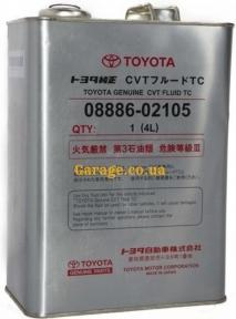 Toyota Genuine CVT Fluid TC (Japan) 4л