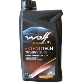 Wolf Extendtech 75W80 GL 5