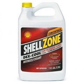 SHELLZONE Dex-Cool Антифриз-концентрат красный -80C G12 (3,785л)