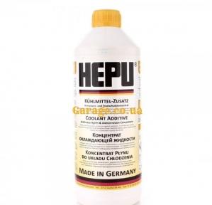 Hepu Антифриз (желтый) G11 (-38°)