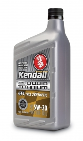 Kendall GT-1 Full Synthetic 5W-20