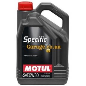 Motul Specific MB 229.51 5W30