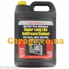 Toyota Super Long Life Antifreeze Coolant 50/50 -40С 3,78л