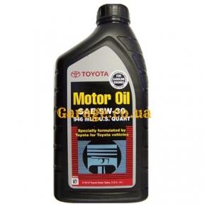 Toyota Motor Oil 5W30 0,946л