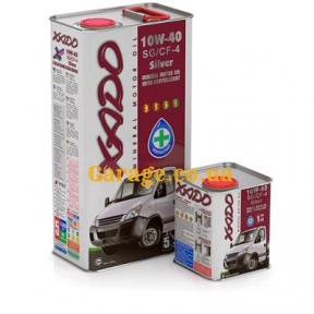 XADO Atomic Oil 10W-40 SG/CF-4 Silver